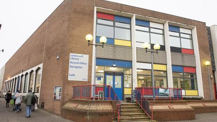 Lowestoft library and record office. Picture: Nick Butcher