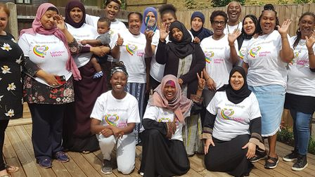 Tell It Parents' Network celebrate winning a MyWestminster award. Picture: TIPN
