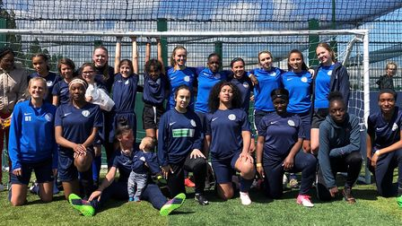 Hackney Laces gives women and girls of all abilities a chance to play football every week.
