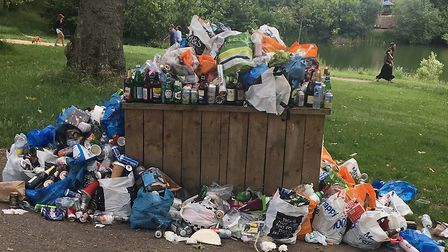 800 tonnes of rubbish is left on Hampstead Heath each year, and more than 80pc of it can be recycled