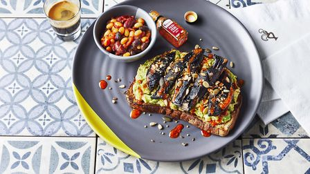 A vegan brunch: 'Avo Bit of That... On Toast' will also be available. Picture: Kris Kirkham.