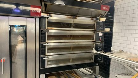 Some of the £1.2m bakery equipment in the basement of Dudley's Bakehouse. Picture: Mahir Kilic