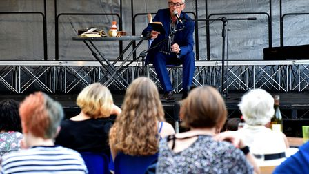 Performer John Hegley opens Stokebourne. Picture: Polly Hancock