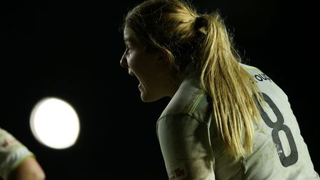 Saracens Womens' Poppy Cleall (pic: Paul Harding/PA)