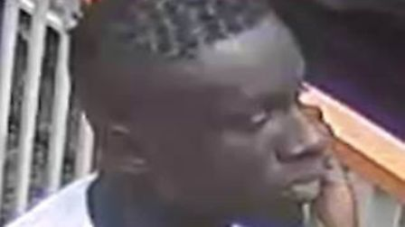 Police want to speak to this man over a stabbing in Star Market. Picture: Met