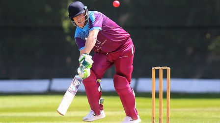 Hampstead in batting action in the Middlesex County Premier Division (pic: George Phillipou/TGS Phot