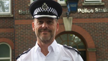 "Hackney's new police commander Marcus Barnett... ""I want to treat people with dignity and respect a"