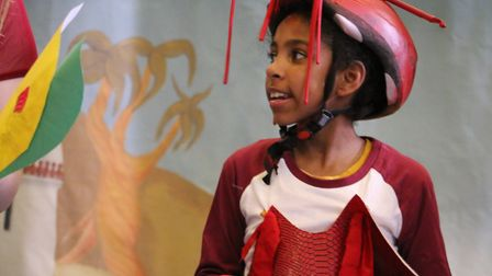 The sequel to the production featured Fafner the dragon's baby Dragonette. Picture: Lola Carter