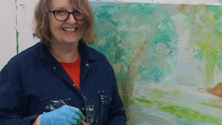 Hilary Barry, who is taking part in the Easterly Artists' Trail as part of Suffolk Open Studios. Pic