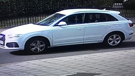 The Audi Q3 thought to have belonged to Mohammed Shah Subhani. Picture: Met Police