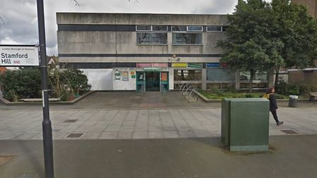Stamford Hill Library. Picture: Google Maps