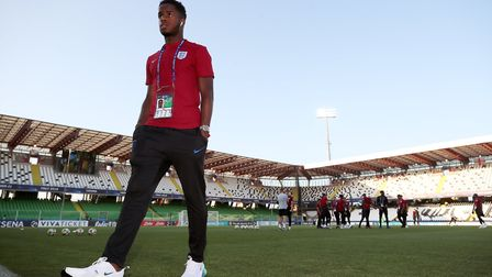 Ryan Sessegnon at the UEFA European Under-21 Championship with England this summer (pic: Nick Potts/