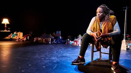 Dael Orlandersmith's Until The Flood comes to Arcola Theatre in September. Picture: Alex Brenner.