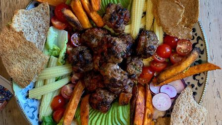 Atendees can learn how to cook plates like these BBQ Mexican Meatballs. Picture: Lisa Cowling.