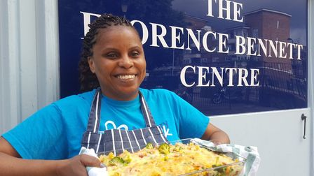The lunch club's co-ordinator,Tunmike Quadri, is responsible for planning the menu, cooking, serving