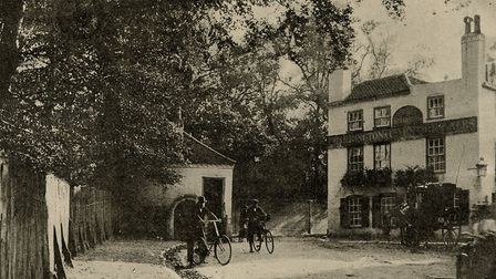 The Spaniards Inn in Hampstead was another of Dickens' haunts. Picture: Camden Local Studies and Arc