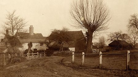 Wyldes Farm in North End, Hampstead at the start of the 20th century. Picture: Camden Local Studies