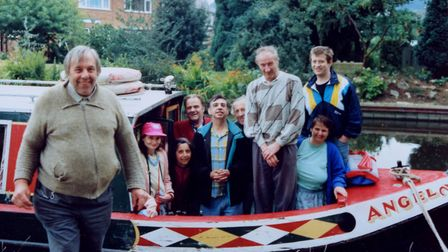 Precious Martini-Brown's photo of a PBHA community boating holiday taken in 1991 on the Grand Union