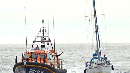 Lowestoft's RNLI Lifeboat, Patsy Knight, was launched just after 7am on Wednesday, June 13 to help t