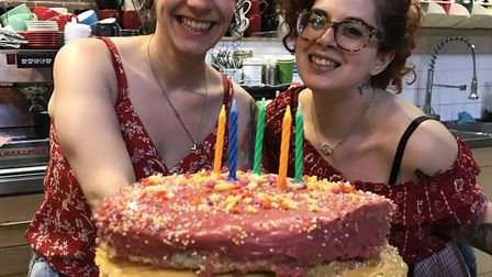 Staff at the Sherriff Centre celebrate their fifth birthday. Picture: Sherriff Centre