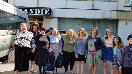 Women from Beis Rochel, a housing facility for women with mental health, enjoyed a trip to Bournemou