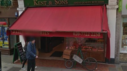 Kent & Sons in St John's Wood High Street. Picture: Google Street View