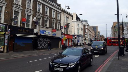 A file image of Kingsland Road, near the junction with Balls Pond Road. Picture: Ken Mears