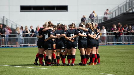Saracens women in action (Pic: Lara Miller Photography)