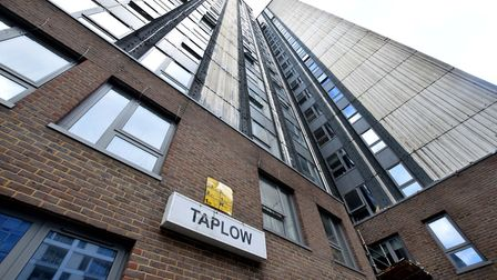 Taplow tower in the Chalcots Estate. Picture: Polly Hancock