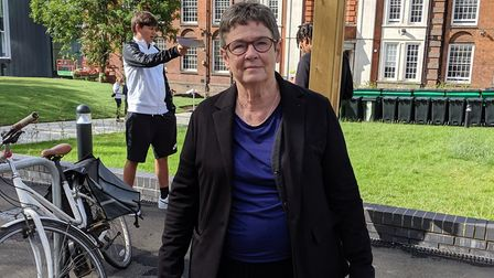 Cllr Angela Mason, Camden Council's cabinet member for education. Picture: Sam Volpe