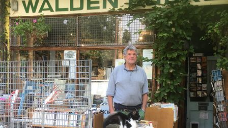 Walden Books will celebrate its 40th birthday with live music and drinks on August 31. Picture: Davi