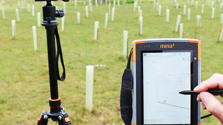 Gunton Woodland Burial Park has teamed up with Pear Technology to electronically pinpoint its plots.
