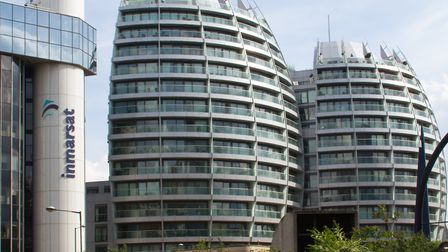 Bezier apartments in Old Street, most of which are thought to be owned by buy-to-leave investors. Pi