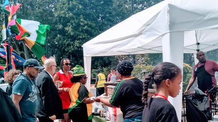 Young and old residents of Clapton came together to dance, eat and enjoy the festivities at the Wind