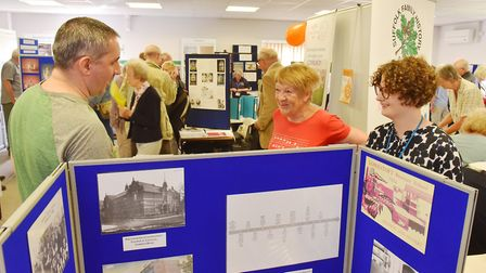 The Suffolk Family History Society Esat Coast Heritage Event at Lowestoft College.Picture: Nick Butc
