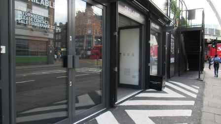 """The company said it """"champions"""" start-ups and independent retailers and Boxpark Shoreditch has """"evol"""