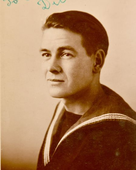 Alfred Draper pictured during the war.Picture:Supplied