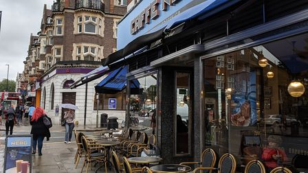 Caffe Nero in Golders Green Road. Picture; Sam Volpe