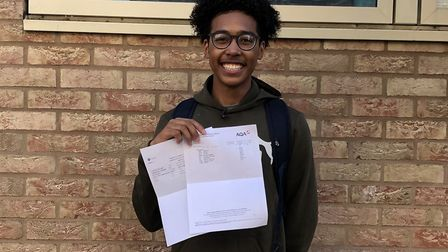 Gabriel Marshall was happy with his results. Picture: Sam Gelder