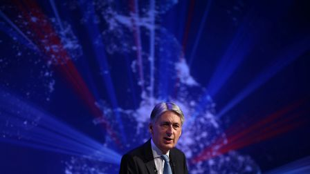 Britain's Chancellor of the Exchequer Phillip Hammond. Photograph: Neil Hall/PA.