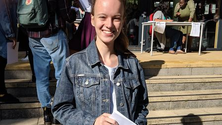 Nuria Munday, who earned a clean sweep of nine grade 9s. Picture: Sam Volpe