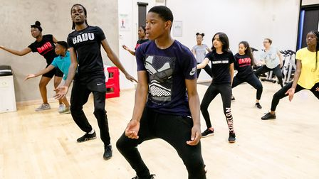 East summer school offers a course on pure dance with BADU sports. Picture: Rahil Ahmad