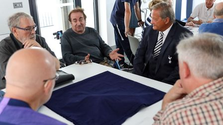 Gary Mabbutt attended a Tottenham Hotspur Sporting Memories event at Percy House recently (pic Totte