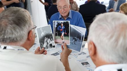 Local residents at a Tottenham Hotspur Sporting Memories event at Percy House (pic Tottenham Hotspur