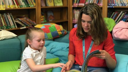 The charity launched in Camden last year. Picture: Bookmark Reading.