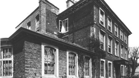 Burgh House in 1979 when it was saved by donations. Picture: Burgh House