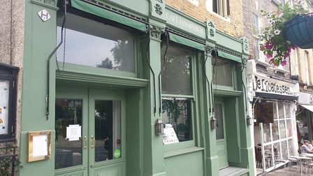 Cafe Hampstead closed its doors in July. Picture: Harry Taylor