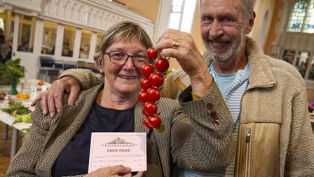Mary Alexander & Steve Hooper Diploma for excellence in Horticulture Highgate Horticultural Soc Autu