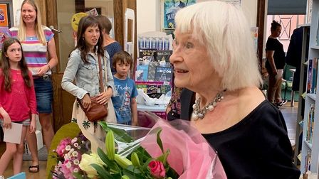Liz Luxmore founded the Muswell Hill Toy Library 33 years ago. Picture: Lindis Dockeray