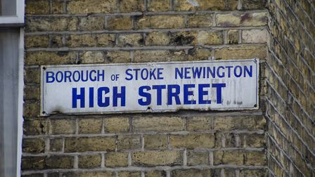 The oldest street sign in the borough. Picture: Amir Dotan